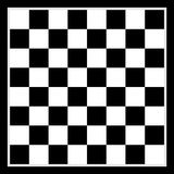 Schachbrett-Hintergrunddesign Stockbild