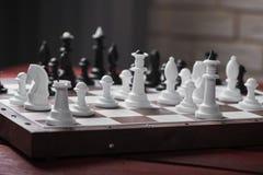 Schachbrett mit Zahlen Lizenzfreies Stockfoto
