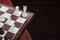 Schachbrett mit Zahlen Stockbilder