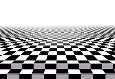 Schachbrettbodenhintergrund Auszug Stockbild
