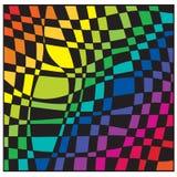 Schachbrettfarbe Lizenzfreie Stockbilder