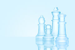 Schachfamilie Lizenzfreies Stockbild