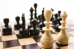 Schachfiguren Lizenzfreie Stockfotografie
