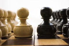 Schachfiguren Stockbilder