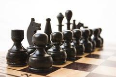 Schachfiguren Stockfotos