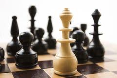 Schachfiguren Lizenzfreies Stockbild