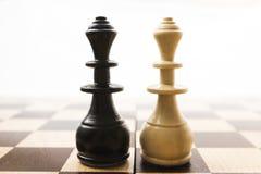 Schachfiguren Stockfoto
