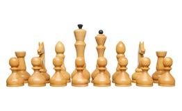 Schachfiguren Lizenzfreie Stockfotos