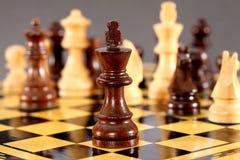 Schachkönig Lizenzfreie Stockbilder