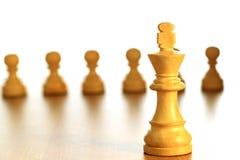 Schachkönig Stockbilder