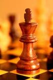 Schachkönig Stockbild