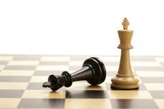 Schachkönige Stockbilder
