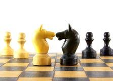 Schachkampf Stockbilder