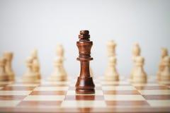 Schachkonzept Lizenzfreies Stockfoto
