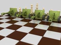 Schachkrieg 4 vektor abbildung