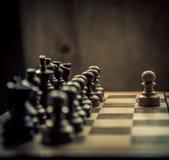 Schachmatch Lizenzfreies Stockbild