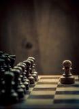 Schachmatch Lizenzfreie Stockbilder