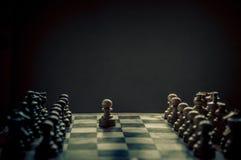 Schachmatch Lizenzfreies Stockfoto