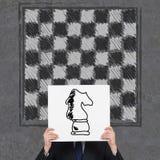 Schachpferd stockbilder