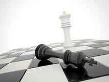 Schachsieg Stockbild