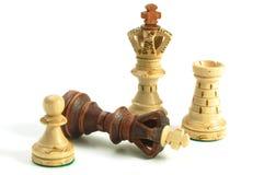 Schachspiel Stockfotografie
