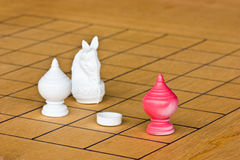 Schachspiel Stockfotos