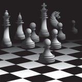 Schachspiel vektor abbildung