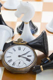 Schachspielkonzept Stockfoto