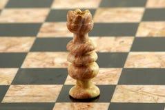 Schachstück, weiße Königin Lizenzfreies Stockfoto