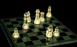 Schachstücke Stockfotografie