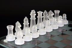 Schachstücke Stockfoto