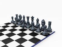 Schachstücke Lizenzfreies Stockbild