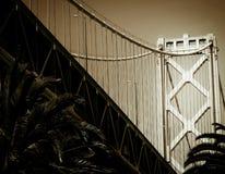 Schacht-Brücke Lizenzfreie Stockfotos