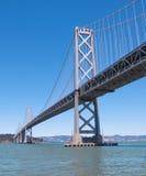 Schacht-Brücke Oakland-San-Francisco Stockfoto