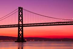 Schacht-Brücke, San Francisco, Kalifornien. Stockfotos