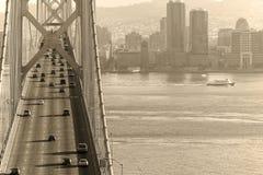 Schacht-Brücke u. San Francisco Lizenzfreie Stockfotografie