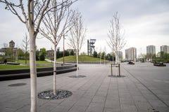 Schacht in Katowice, Polen Royalty-vrije Stock Foto