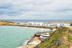 Schacht in Monastir, Tunesien Stockfotos