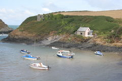 Schacht, Pembrokeshire Stockfoto