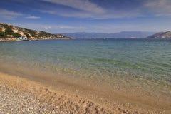 Schacht von Baska, Kroatien Lizenzfreie Stockfotografie
