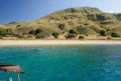Schacht von Komodo Insel Lizenzfreie Stockbilder