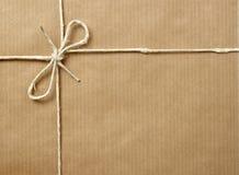 Schachteln Sie Paketverpackung stockbild