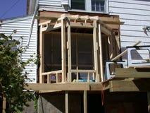 Schachtfensteraufbau Lizenzfreies Stockfoto