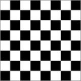 Schachtischklassiker mit grauen angrenzenden Quadraten Lizenzfreies Stockfoto