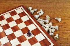 Schachvorstand Stockbild