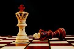 Schachvorstand Stockfotografie