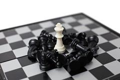 Schachvorstand mit Abbildungen Lizenzfreie Stockfotografie