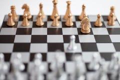Schachvorstand mit Abbildungen Lizenzfreie Stockbilder