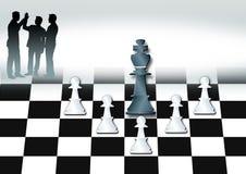 Schachwelt Stockbild