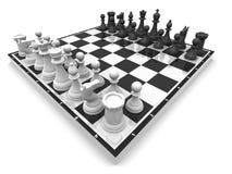 schack stock illustrationer